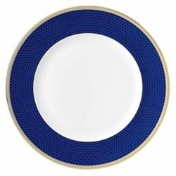 Hibiscus Dinner plate, 27cm, blue