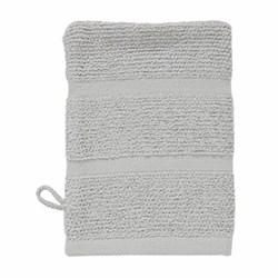 Adagio Wash mitt, 16 x 22cm, silver grey