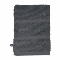 Adagio Wash mitt, 16 x 22cm, dark grey
