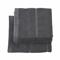 Adagio Hand towel, 55 x 100cm, dark grey