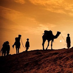 Overnight desert trip for two