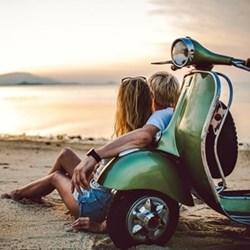 Honeymoon motorbike hire