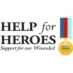 Help for Heroes donation