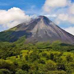 Volcano tour for two