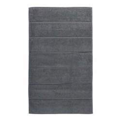 Adagio Bath mat, 60 x 100cm, dark grey