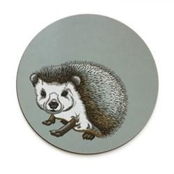 Faunus Round tablemat, 25.5cm, Hedgehog