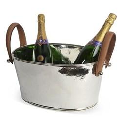 Champagne bath H18 x W20 x D38cm
