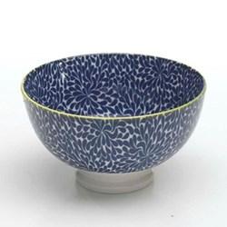 Tue Set of 6 small bowls, 11.5cm, blue
