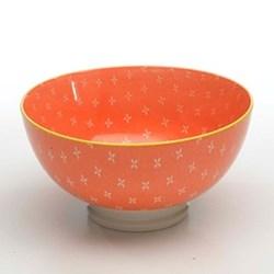 Tue Set of 6 medium bowls, 15.2cm, orange