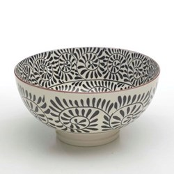 Set of 6 large bowls 20.3cm