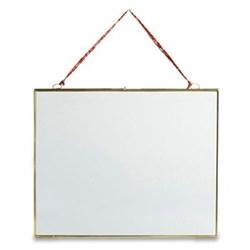 """Kiko Hanging frame - landscape, 5 x 7"""", antique brass"""