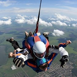 Skydiving experience fund