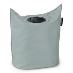 Laundry bag, oval, 50 litre, grey