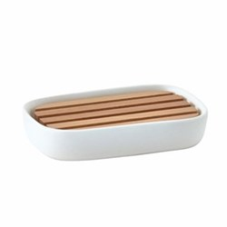 Oscar Soap dish, white