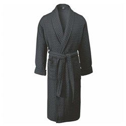 Viggo Bath gown, large, dark grey