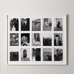 Photograph frame with 15 apertures H67 x W82cm - 5 x 7""