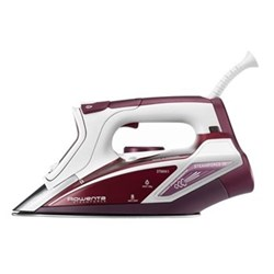 DW9230 - Steam Force Steam iron, 2.75 kW, red and white
