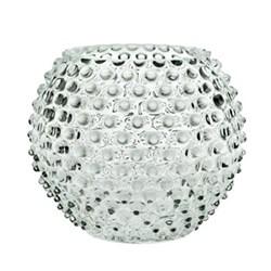 Bobble Vase, D18cm, clear