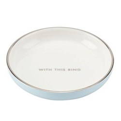 Take the Cake Ring dish, 9.1cm, white