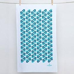 Cordello Heart Tea towel, 79 x 49cm