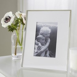 Fine Silver Photograph frame, 4 x 6""