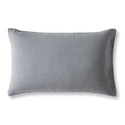 Housewife pillowcase, 30 x 40cm, lens charcoal