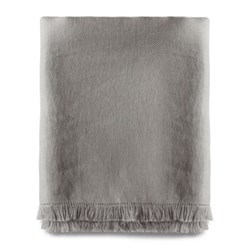 Fringed throw 140 x 225cm