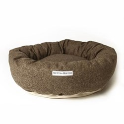 Donut bed, small, 51cm, herringbone