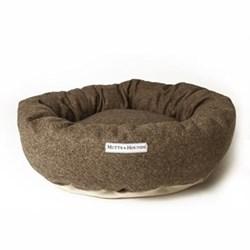 Donut bed, large, 71cm, herringbone