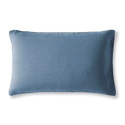 Housewife pillowcase, 50 x 75cm, Parisian blue