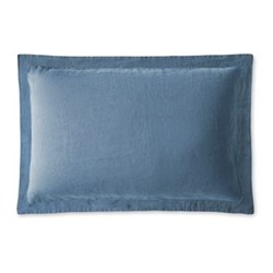 Oxford pillowcase, 50 x 75cm, Parisian blue