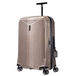 7R Spinner suitcase, 76 x 49 x 30cm - 88.5 litre, rose gold