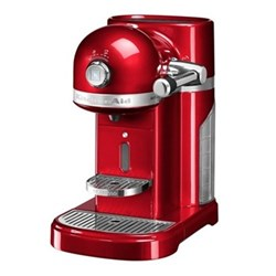 Artisan with Aeroccino - 5KES0504BCA Coffee machine by KitchenAid, candy apple red