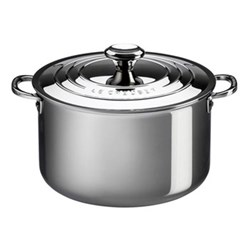 Signature Stockpot with lid, 28cm, stainless steel