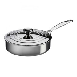 Signature Sauté pan with lid, 24cm, stainless steel