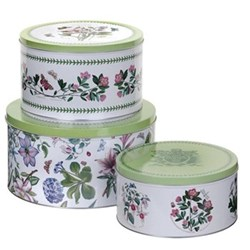 Set of 3 cake tins D26.5 x H14, 21.8 x 13, 20 x 10cm