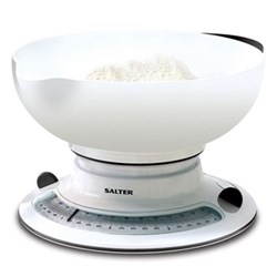 Add and Weigh Mechanical kitchen scales, white