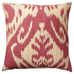 Silk cushion cover and pad 51 x 51cm