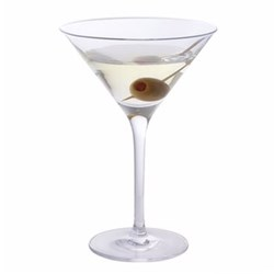Wine & Bar Pair of martini glasses, H17.2cm - 24cl, clear