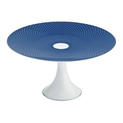 Tresor Bleu Medium petit four stand, 22cm