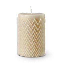 Chevron Candle 21 Decorative candle, 13 x 20cm