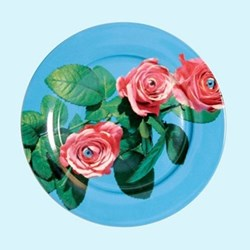 Toiletpaper - Rose Dinner plate, 27.5cm