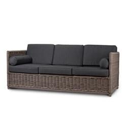Sofa with cushions 73 x 200 x 83cm