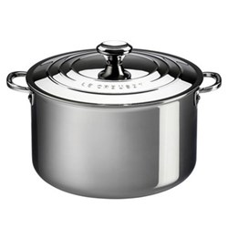 Signature Deep casserole with lid, 20cm, stainless steel
