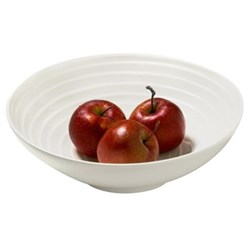 Blond - Stripe Inner Side Salad bowl, 30cm, white inside stripe