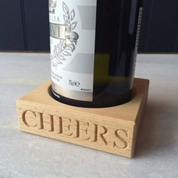 Wine bottle holder 3 x 10.5 x 10.5cm