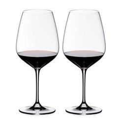 Pair of cabernet/savignon glasses