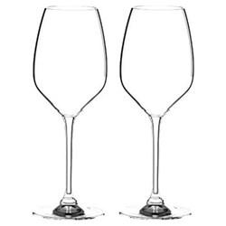 Pair of riesling glasses
