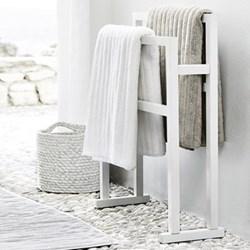 Bathroom towel rail H74 x W55 x D23cm