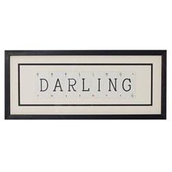 DARLING Medium frame, 51 x 20cm